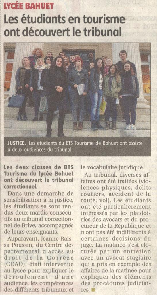 2015-10-21_-_Les_étudiants_en_tourisme_ont_découvert_le_tribunal_-_La_Montagne