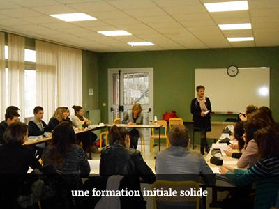 Une formation initiale solide