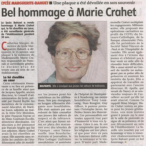2015-01-15_-_Bel_hommage_à_Marie_Crahet_-_La_Montagne
