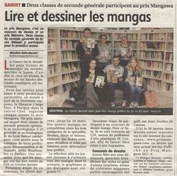 2016-01-29 - Lire et dessiner les mangas - La Montagne