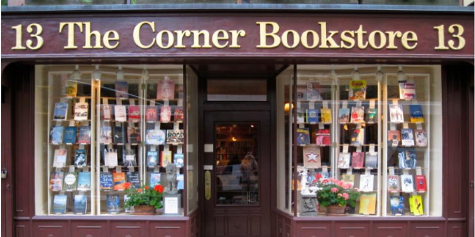 Book launch at The Corner Bookstore