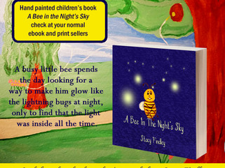 How it happened: Book Cover-A Bee in the Night's Sky