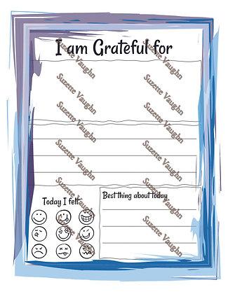 Messy Gratitude Frame