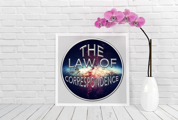 Universal Law of Correspondence