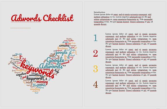 Adwords Checklist