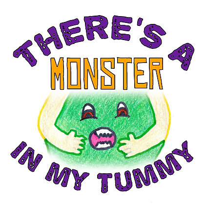There's a Monster in My Tummy