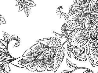 Adult Coloring: Funky Floral 2