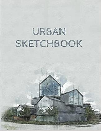 Urban Sketchbook -150 8.5*11 pages