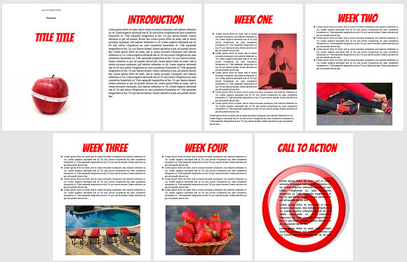 Health Red Lead Magnet/Checklist