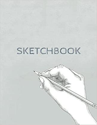 Sketchbook -150 8.5*11 pages