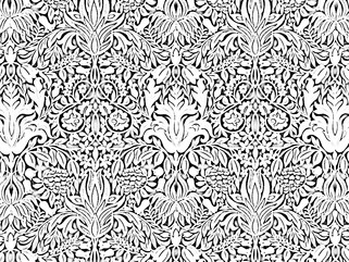 Adult coloring Ornate pattern