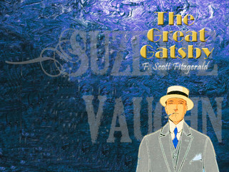 Book Cover Saturday-The Great Gatsby