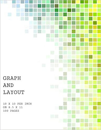 Graph Paper Notebook 10 per inch grid 100 pages
