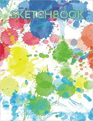 Sketchbook 150 8.5*11 pages