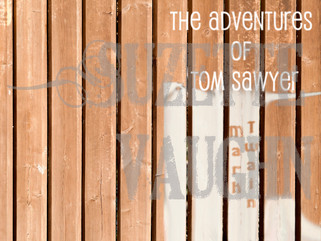 Book Cover Saturday-The Adventures of Tom Sawyer