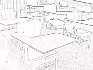 Adult Coloring: School