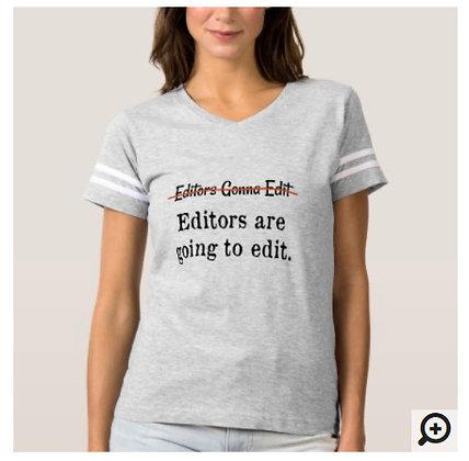 Editors gonna edit