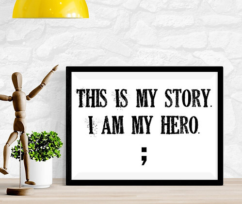 This is My Story I am my hero ;