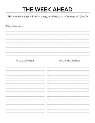 The Week Ahead-Sun Tzu-PDF