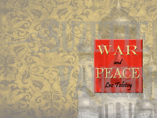 Book Cover Saturday-War and Peace