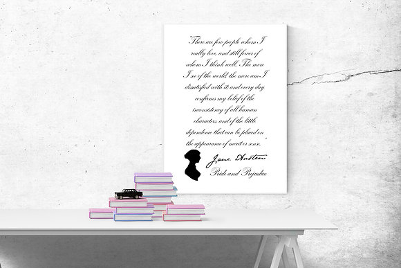 Jane Austen There are few people who I really love