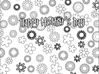 Adult Coloring: Mother's Day