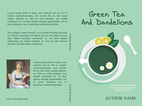 Green Tea Dandelions