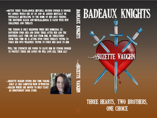 How it happened: Book Cover-Badeaux Knights, Daze, Duo