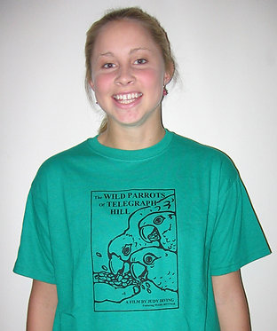 Wild Parrots Movie and Book T-shirts