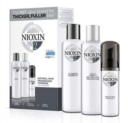Nioxin System 2 Starter Trial Kit 150ml + 150ml + 50ml