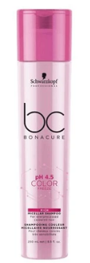 Schwarzkopf Bonacure pH 4.5 Color Freeze Silver Micellar Shampoo 250ml