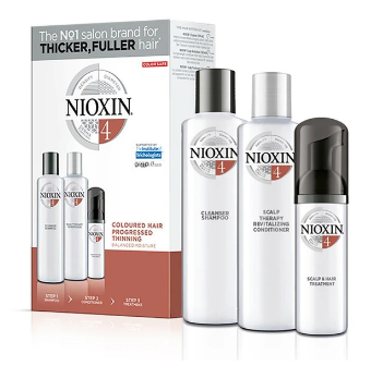 Nioxin System 4 Starter Trial Kit 150ml + 150ml + 40ml