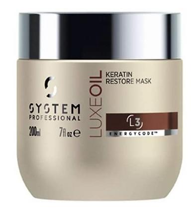 System Professional Fibra Luxeoil Keratin Restore Mask 200ml