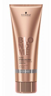 Schwarzkopf BLONDME Tone Enhancing Bonding Shampoo Cool Blondes 250ml