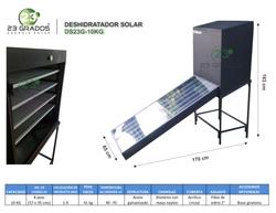 Deshidratador Solar DS23G-10kg