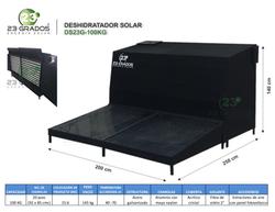 Deshidratador Solar DS23G-100kg