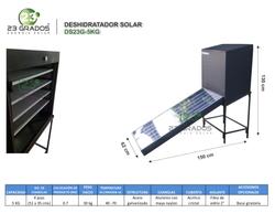 Deshidratador Solar DS23G-5kg