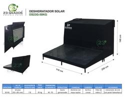 Deshidratador Solar DS23G-50kg