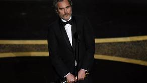 Joaquin Phoenix habla de explotación animal al recibir premio como mejor actor en los Oscars