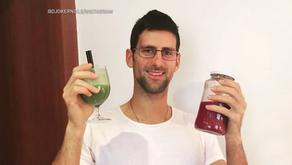 El tenista vegano Novak Djokovic revela lo que come en un día