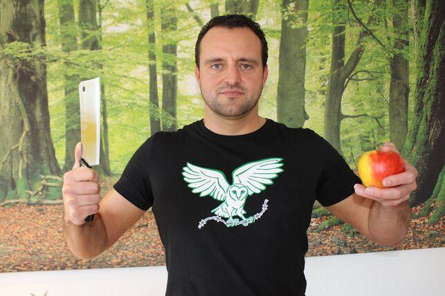 Phil Hörmann, carnicero alemán que ahora es vegano y activista en defensa de los animales - TOBIAS SCHUHWERK
