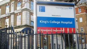 60 altos funcionarios de importante hospital en Reino Unido dejan la carne