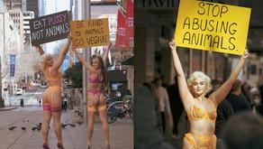 La modelo australiana Stefania Ferrario se manifiesta a favor del veganismo
