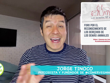 VIDEO: #ComerVegano exhortó a legisladores a tomar conciencia del veganismo