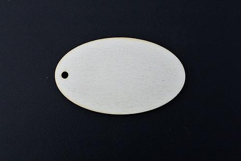 50mm Oval tag qty 10