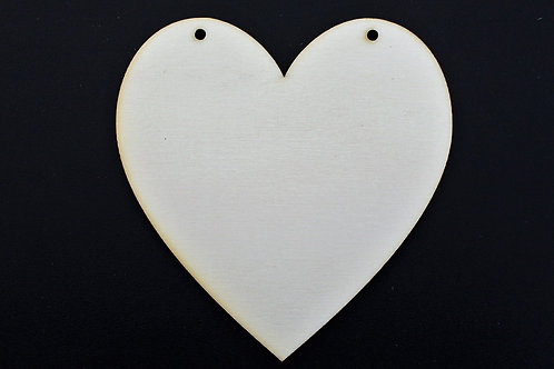 Bunting Heart 100mm Qty 10