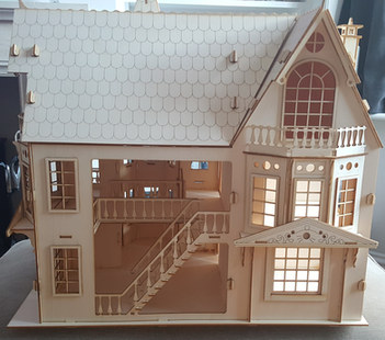 Dolls House side view