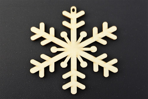 75mm ply snowflake cut out