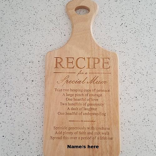 Hevea wood paddle board