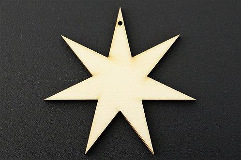 7 point star 75mm